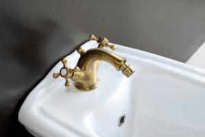 bronze sink faucet