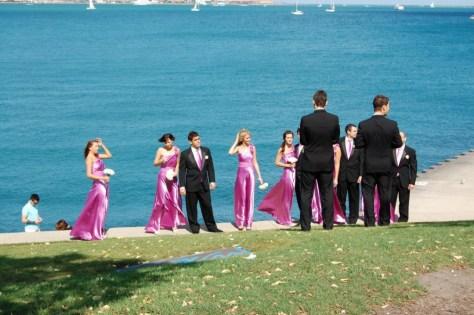 Noch eine Hochzeitsgesellschaft