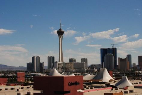 Unser Hotel der Stratosphere Tower