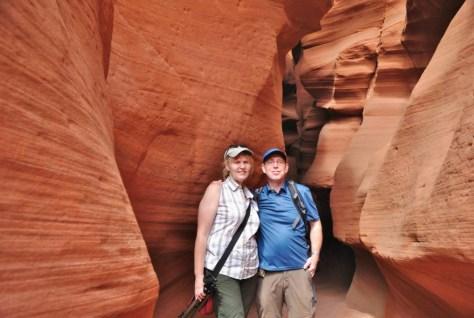 Vor derm Antelope Canyon