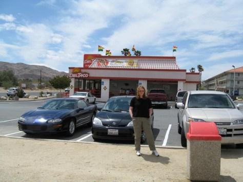 Mittagessen bei Taco Bell