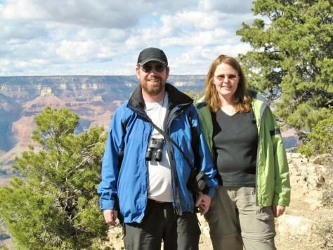 Zwei glückliche Touristen :-)