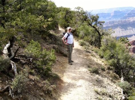"""Der Rim Trail. Manchmal ganz schön nah am """"Rand"""""""