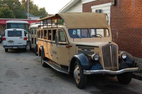 """Touristenbus für die """"Ghost Tours"""""""