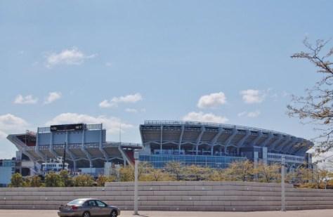 Das Cleveland Stadium