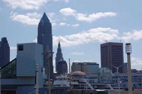 Skyline von Cleveland