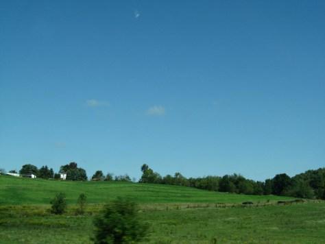 Bilderbuchlandschaft in Ohio