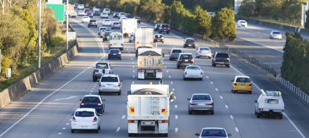 Traffic Snarled in Three-Vehicle Pileup on 5 Freeway [Laguna Hills, CA]