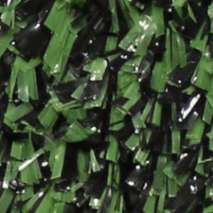green and black turf