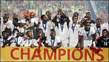 Soccer: Ghana wins Under-20 World Cup for first time, beats Brazil in shootout