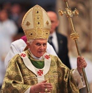 Pope Benedict 2009