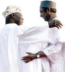 In memory of Nigeria's anonymous President Yar'Adua and the devil himself, Obasanjo