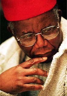 The great writer Achebe joins Brown faculty