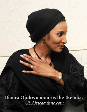 To my husband, outstanding father of our children, Dim oma Ojukwu. By Mrs. Bianca Odumegwu Ojukwu