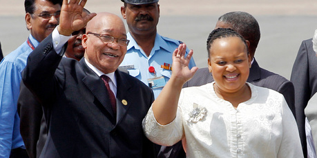 South Africa's 70 years-old President Zuma adds 4th wife