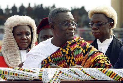 Ghana's President Atta MILLS is DEAD; Vice President John Mahama takes over