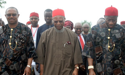 """USAfrica: Orient Petroleum oil field, parts of Aguleri submerged by flood; Obiano calls for """"humanitarian"""" help"""