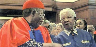 Achebe-n-Mandela. via USAfricaonline.com