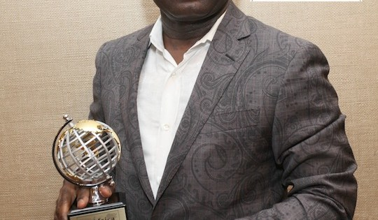 ALEX OTTI, Diamond Bank's Group Managing Director/CEO, wins USAfrica BEST OF AFRICA1st International Banker of the Year 2013 award