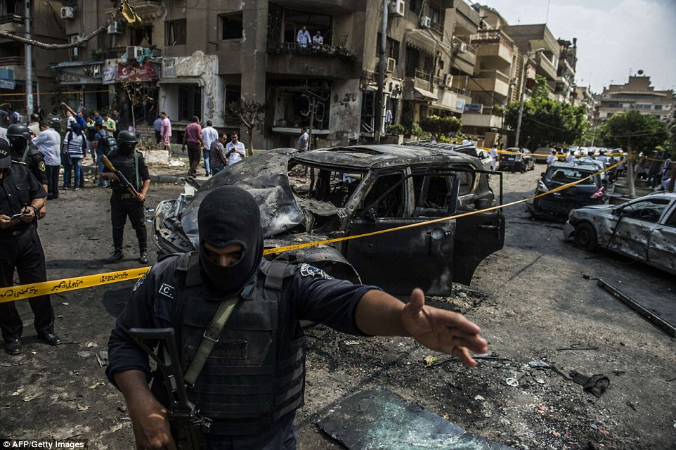 #Terrorism State of Emergency in #Egypt #ISIS claims Palm Sunday bombing of church; killed 44