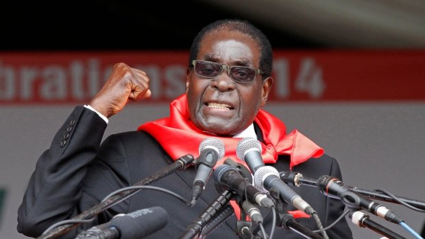 BrkNEWS: Mugabe's appointment cancelled as WHO goodwill ambassador