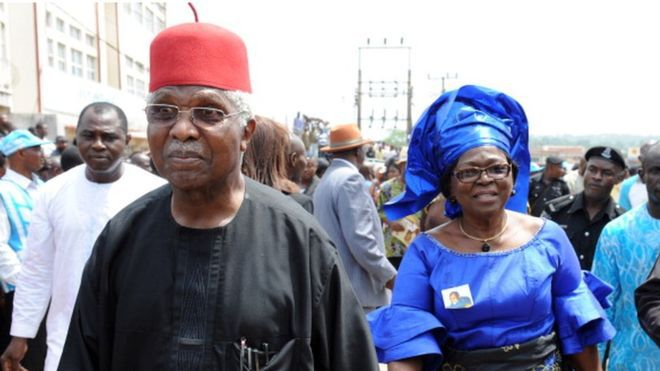Ide Alex Ekwueme: philosopher and king; visionary and practician.  By Chido Nwangwu