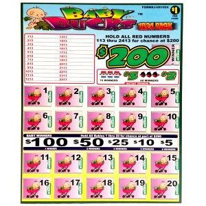 1024PACK Baby Bucks