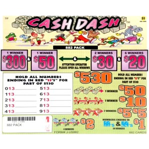 882PACK Cash Dash