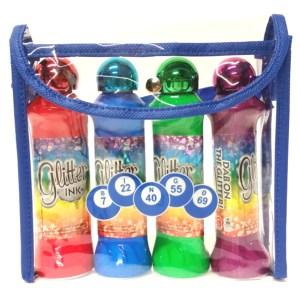 3oz Glitter 4pk Bag