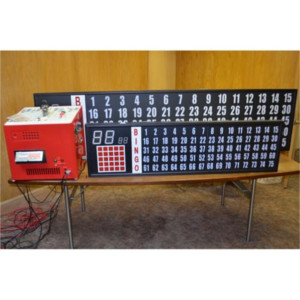 Deluxe Electronic Flashboard with 2 Inch Numbers