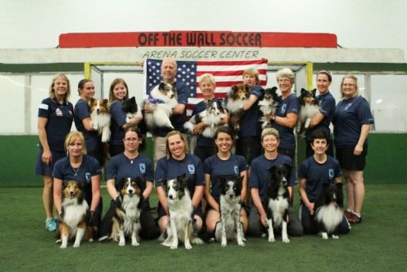 2015 AKC/USA World Team Members