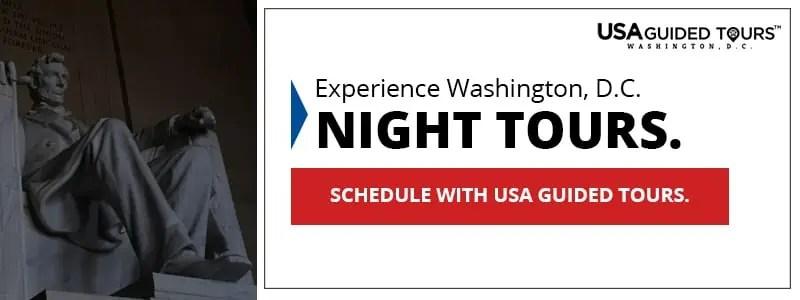 Washington, DC Night Tour