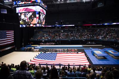 USA Gymnastics: June 29 - Eliite Competition Day 1 &emdash;