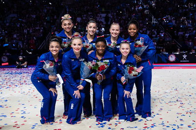 The 2016 U.S. Olympic Women's Gymnastics Team