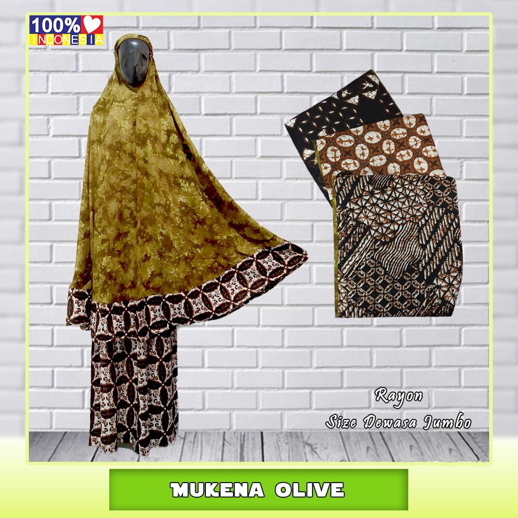 Mukena Olive