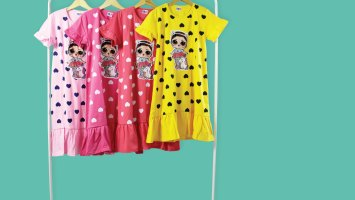 Dress Anak Bisa Nyala