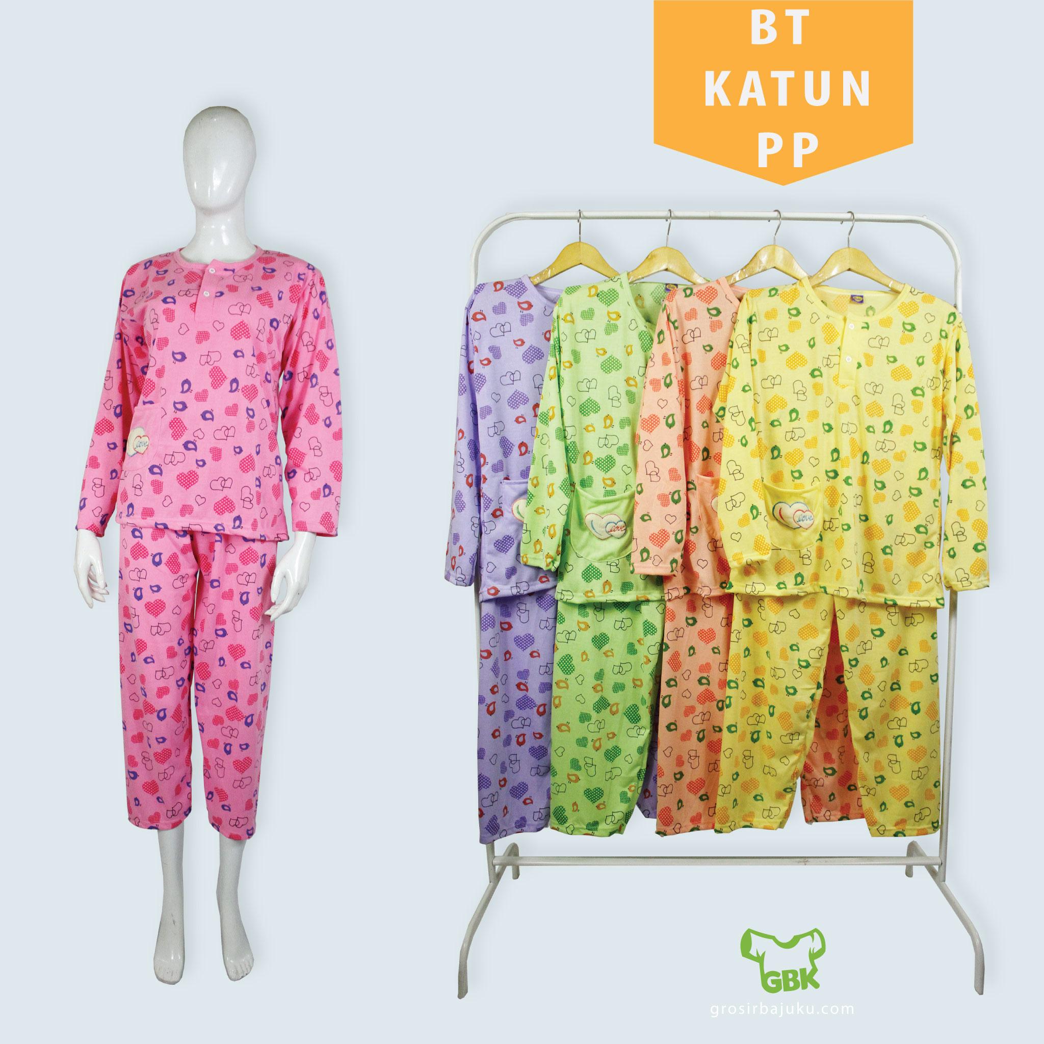 Baju Tidur Dewasa Bahan Cotton