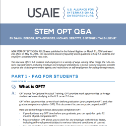 STEM OPT Q&A