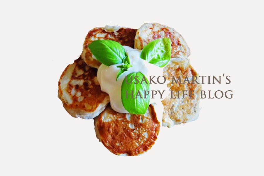 【4】【レシピ】ヴィーガンバナナパンケーキの作り方 *イラストレシピ*
