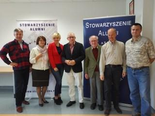 Zebranie Zarządu Stowarzyszenia Alumni 24 września 2016 r.