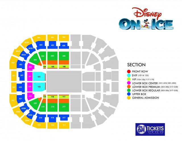 Disney on ice in Philippines