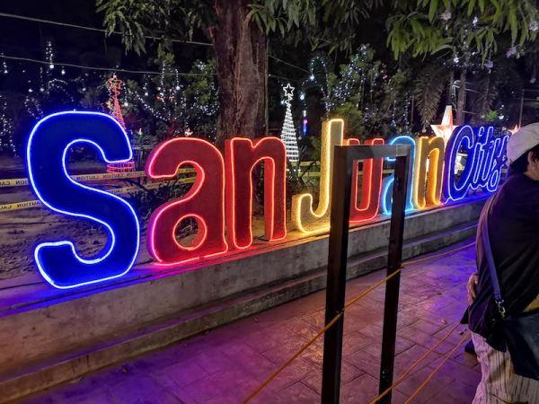 San Jaun CityのChristmas displayのイルミネーション