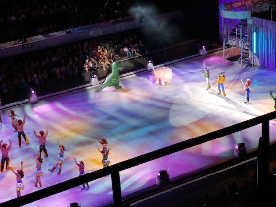 Disney on ice in Mall of Asia ARENAのショートイ・ストーリー
