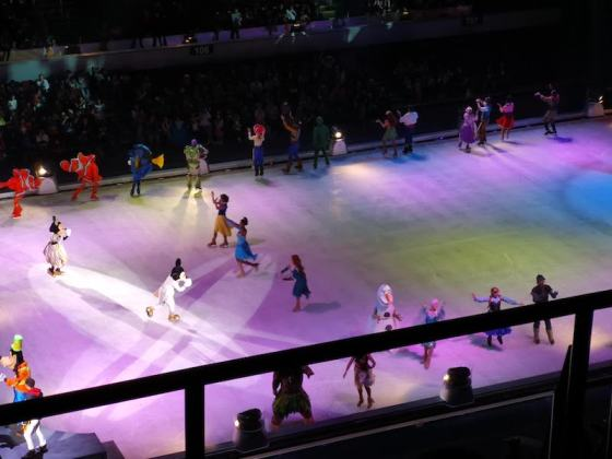 Disney on ice in Mall of Asia ARENAのフィナーレ