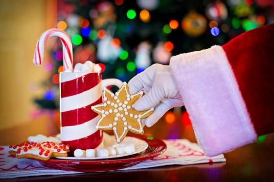 クリスマスのサンタクロース
