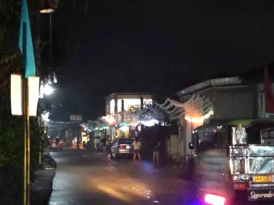 フィリピンのローカルサイドでのカウントダウン