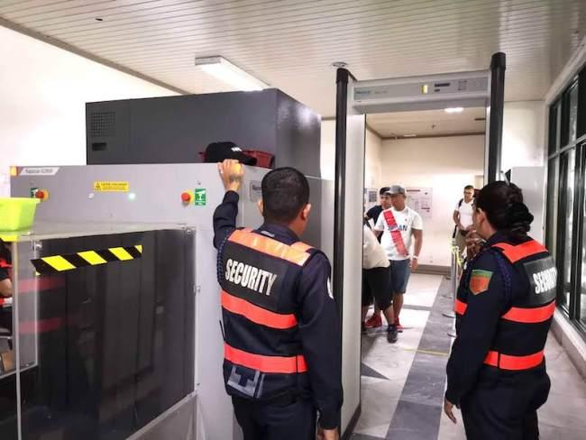 バタンガス港のセキュリティ