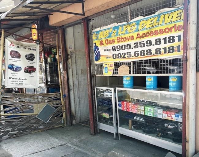 フィリピンのガス屋さん