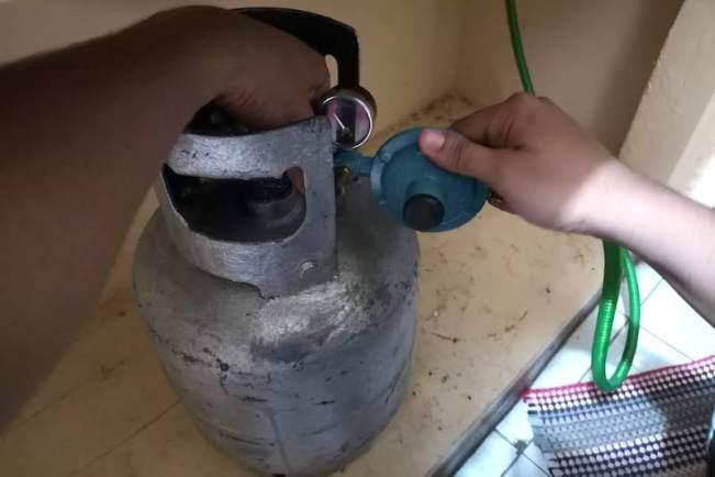フィリピンのガス付け方