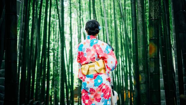 日本人女性京都